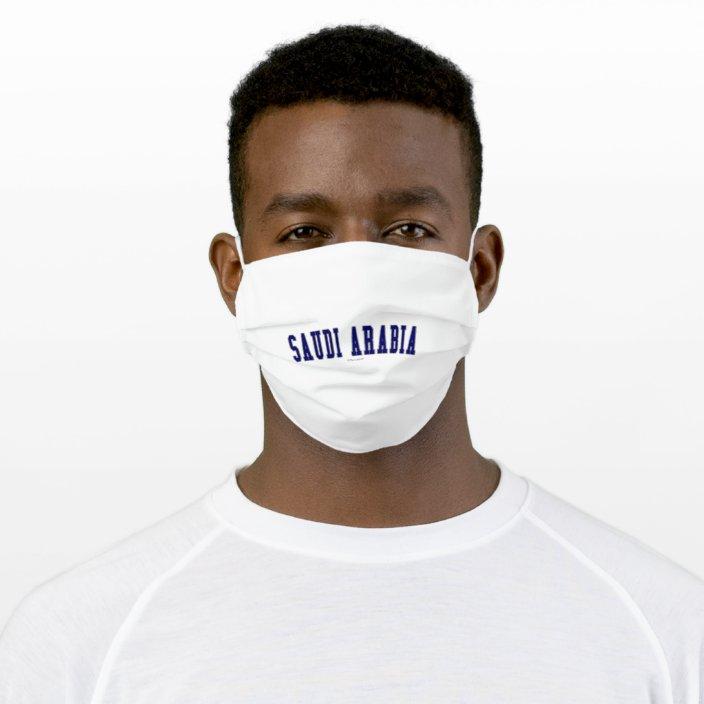 Saudi Arabia Cloth Face Mask