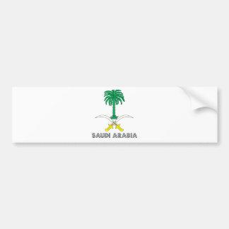 Saudi Arabia Coat of Arms Bumper Sticker