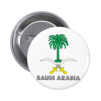 Saudi Arabia Coat of Arms Button