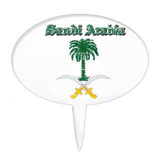 Saudi Arabia coat of arms designs Cake Picks