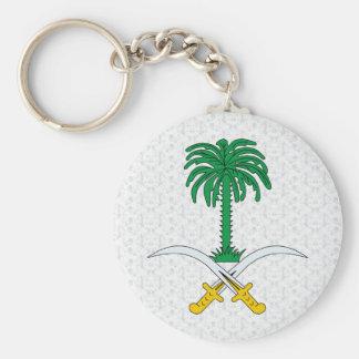 Saudi Arabia Coat of Arms detail Keychain