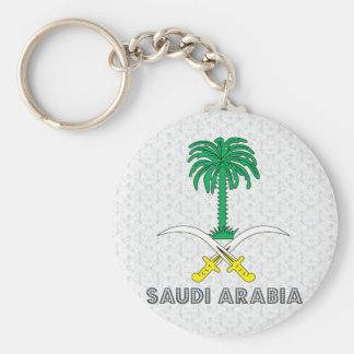Saudi Arabia Coat of Arms Keychain