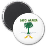 SAUDI ARABIA Coat Of Arms Magnet