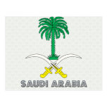 Saudi Arabia Coat of Arms Post Cards