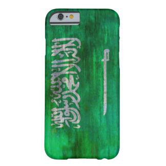 Saudi Arabia distressed Saudi Arabian flag Barely There iPhone 6 Case