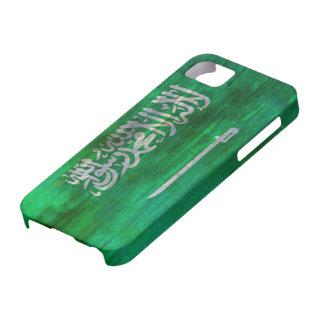 Saudi Arabia distressed Saudi Arabian flag iPhone SE/5/5s Case
