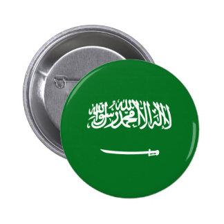 Saudi Arabia Fisheye Flag Button