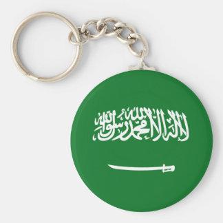 Saudi Arabia Fisheye Flag Keychain