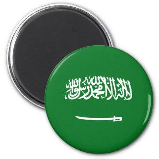Saudi Arabia Fisheye Flag Magnet