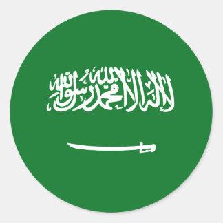Saudi Arabia Fisheye Flag Sticker