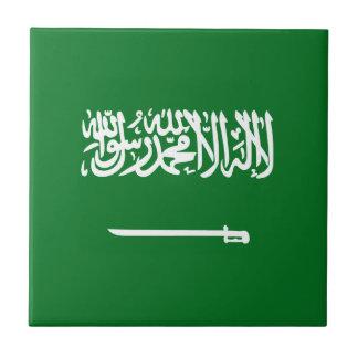 Saudi Arabia Flag Ceramic Tile