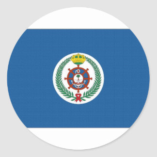 Saudi Arabia Flag Classic Round Sticker
