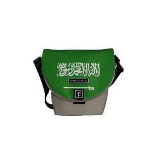 Saudi Arabia Flag Courier Bag