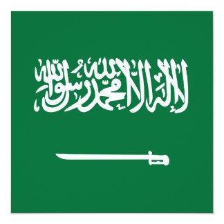 Saudi Arabia Flag Invitation