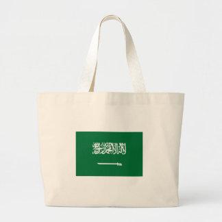 Saudi Arabia Flag Large Tote Bag