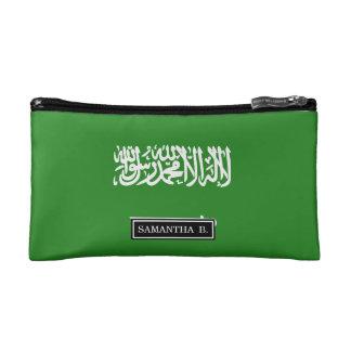 Saudi Arabia Flag Makeup Bag
