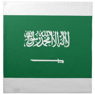 Saudi Arabia Flag Napkin
