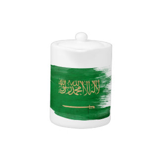 Saudi Arabia Flag Teapot