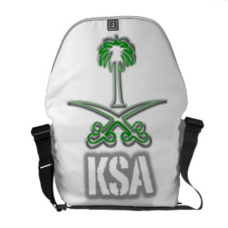 Saudi Arabia icon سيفين ونخلة Messenger Bag