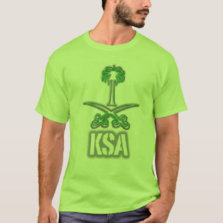 Saudi Arabia icon سيفين ونخلة T-Shirt