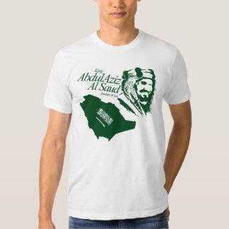 saudi arabia - king abdulaziz t shirt