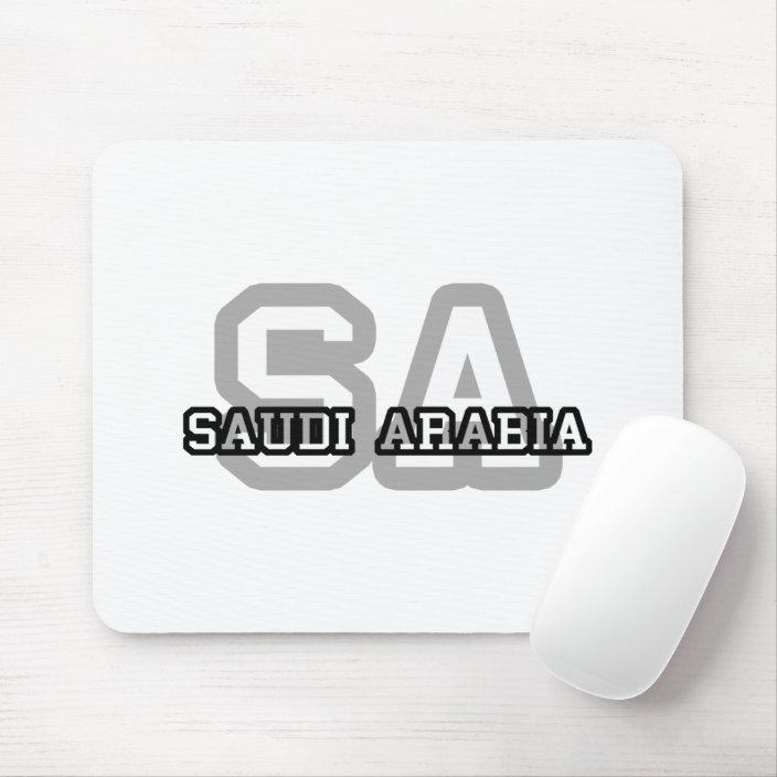 Saudi Arabia Mouse Pad