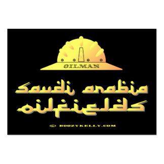 Saudi Arabia Oilman, Oil Fields Business Cards