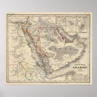 Saudi Arabia Poster