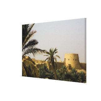 Saudi Arabia, Riyad, Al-Diriya old town of Saud Stretched Canvas Print