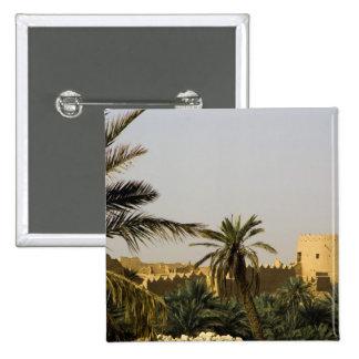 Saudi Arabia, Riyad, Al-Diriya old town of Saud Pinback Button