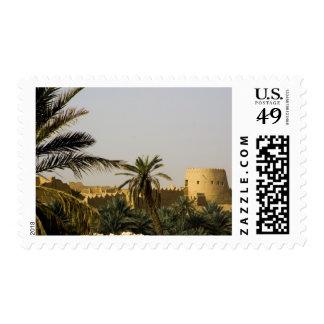 Saudi Arabia, Riyad, Al-Diriya old town of Saud Postage Stamp