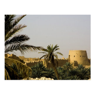 Saudi Arabia, Riyad, Al-Diriya old town of Saud Postcard