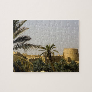 Saudi Arabia, Riyad, Al-Diriya old town of Saud Puzzle