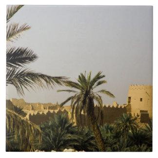Saudi Arabia, Riyad, Al-Diriya old town of Saud Tile