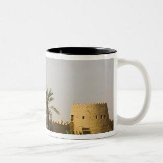 Saudi Arabia, Riyad, Al-Diriya old town of Saud Two-Tone Coffee Mug