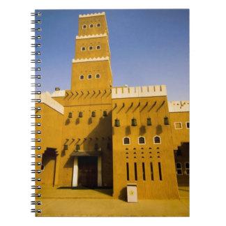 Saudi Arabia, Riyad, Mosque of Al Diriya Spiral Note Books