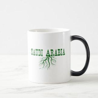 Saudi Arabia Roots Magic Mug
