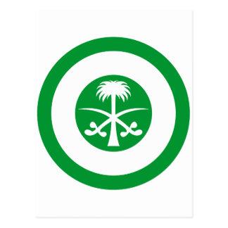 Saudi Arabia Roundel Postcard