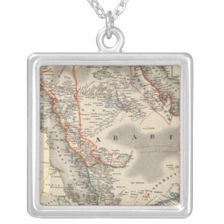 Saudi Arabia Silver Plated Necklace