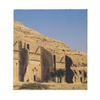 Saudi Arabia, site of Madain Saleh, ancient 2 Notepad