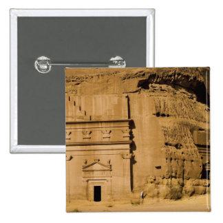 Saudi Arabia, site of Madain Saleh, ancient 3 Pinback Button