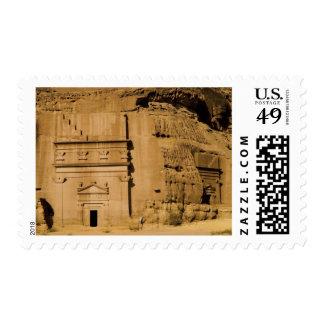 Saudi Arabia, site of Madain Saleh, ancient 3 Postage Stamp