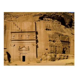 Saudi Arabia, site of Madain Saleh, ancient 3 Postcard