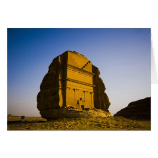 Saudi Arabia, site of Madain Saleh, ancient 4 Card