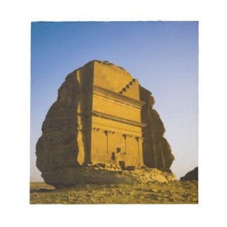 Saudi Arabia, site of Madain Saleh, ancient 4 Notepad