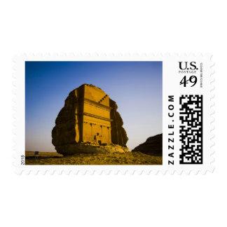 Saudi Arabia, site of Madain Saleh, ancient 4 Stamp
