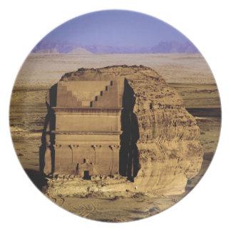 Saudi Arabia, site of Madain Saleh, ancient Plate