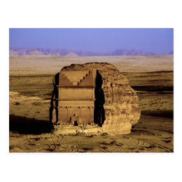 Saudi Arabia, site of Madain Saleh, ancient Postcard