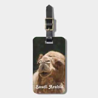 Saudi Arabian Camel Luggage Tag