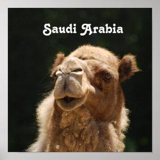 Saudi Arabian Camel Print